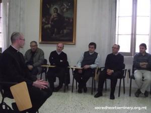 Toledo Rector Visit